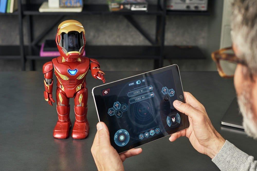 Programmiert den Iron Man MK50 nach euren Vorstellungen. (Foto: Ubtech)