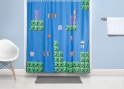 Super Mario Bros.: Welt 2-2 als Duschvorhang