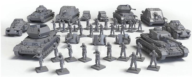 Mit detaillierten Figuren. (Foto: Kickstarter)