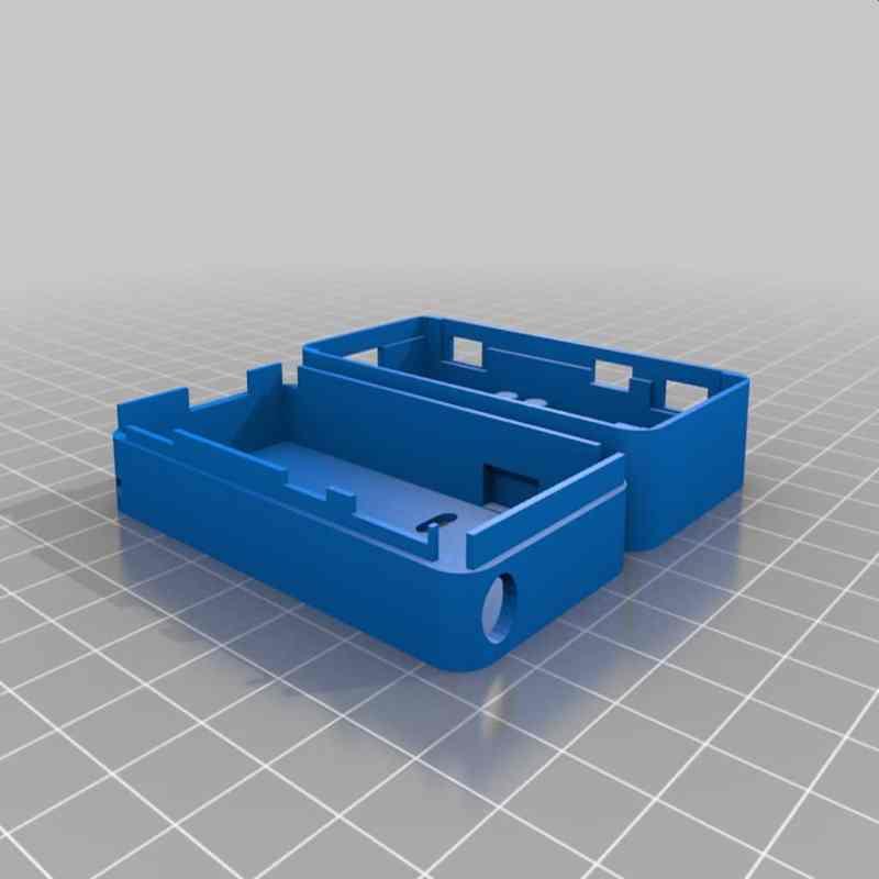 Das Gehäuse stammt aus dem 3D-Drucker. (Foto: Nochii)