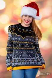Batman-Weihnachtspullover. (Foto: Merchoid)