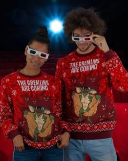 Gremlins Weihnachtspullover. (Foto: Geekstore)