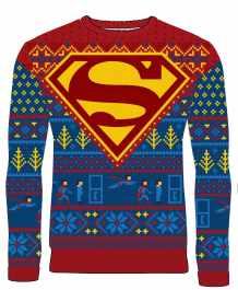Superman-Weihnachtspullover. (Foto: Merchoid)
