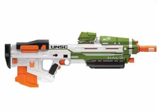 Halo Nerf Waffen. (Foto: Hasbro)