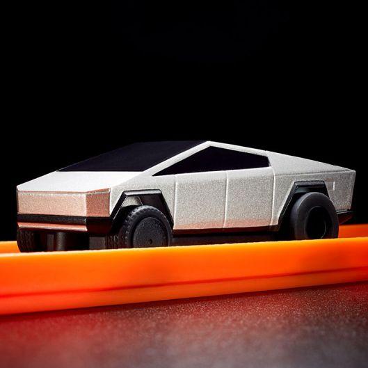 Der kleine Hot Wheels Cybertruck. (Foto: Mattel)