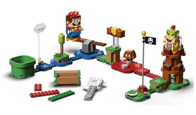 Das aufgebaute Starterset. (Foto: LEGO)
