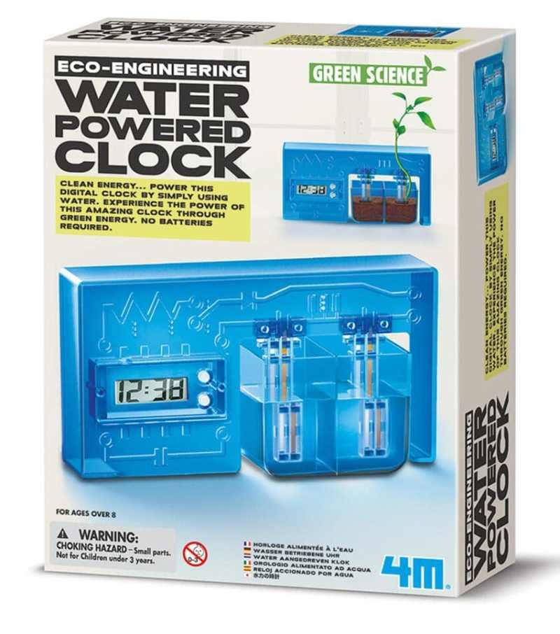 Das ist die Wasser-betriebene Uhr. (Foto: GetDigital)