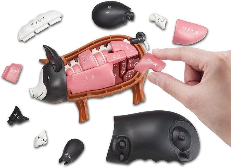 Ein Schwein zum Puzzeln. (Foto: Megahouse)