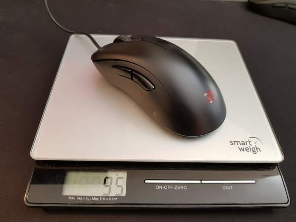 Zowie EC2-B Weight