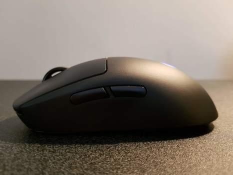Logitech G Pro Wireless side buttons