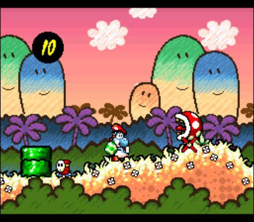 classic gaming super mario