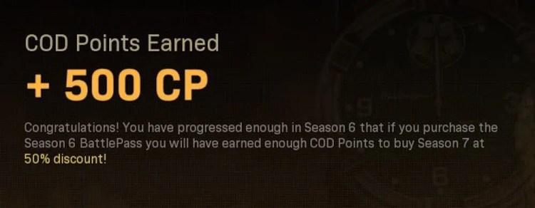 Season 6 Battle Pass references Warzone Season 7