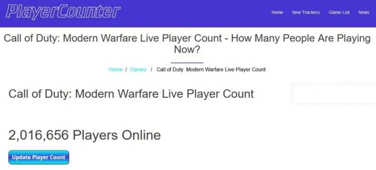 modern warfare massive player count