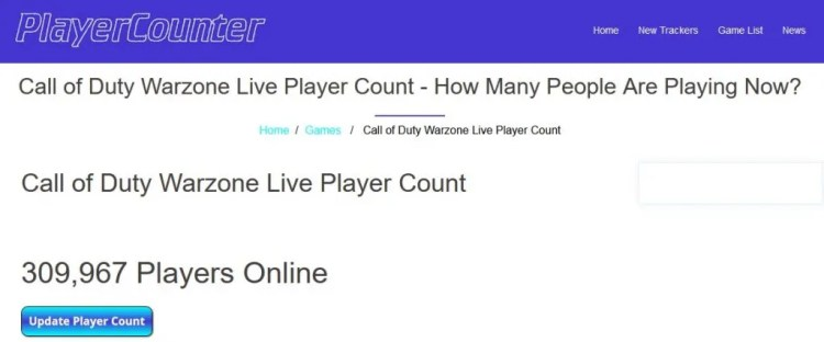 warzone player count