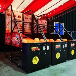 Arcade Basketball Machine at an event