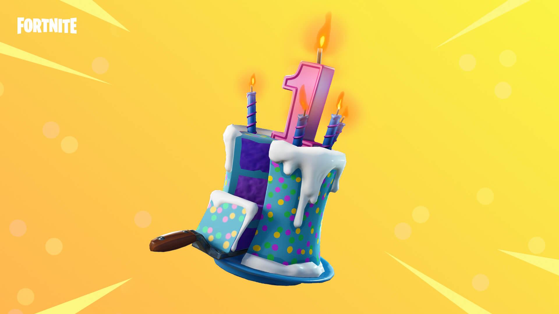 Fortnite Birthday Celebrations Kick Off Birthday Cake Locations