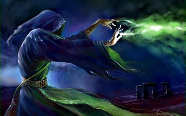 Wizards Casting Magic Spells