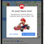 Google Maps e Nintendo fazem semana especial com Mario no comando