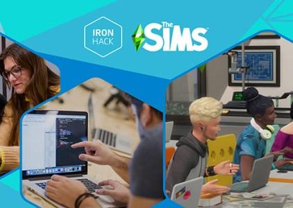 Ironhack et Les Sims s'associent pour créer une bourse d'étude de 800 000€