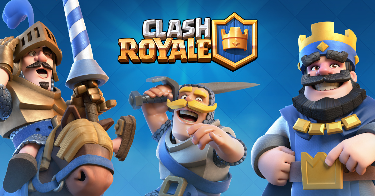 Best 3 multiplayer mobile games, Clash Royale