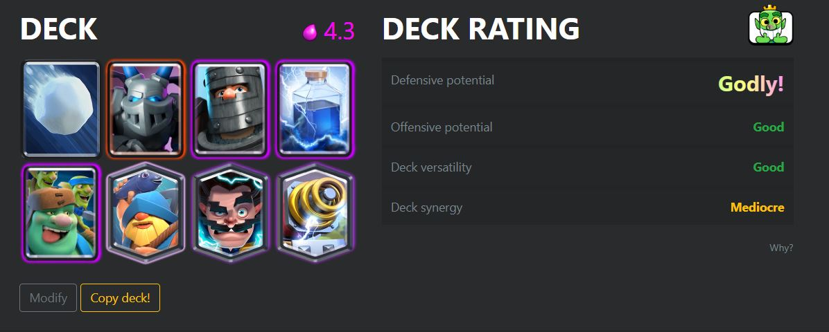 best decks in clash royale season 3