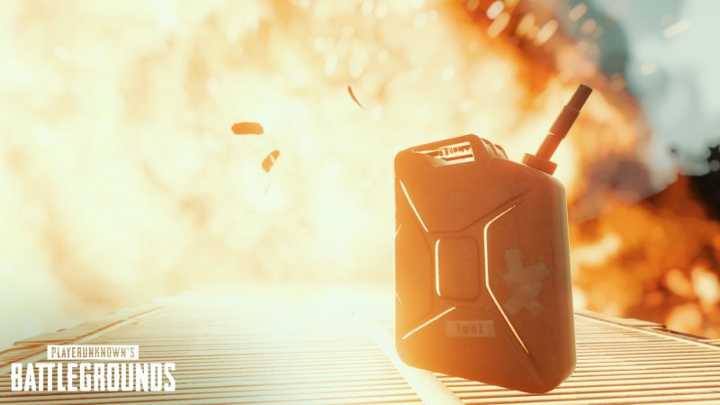 gas can explosion in PUBG Mobile, PUBG Mobile 0.15.0 Beta