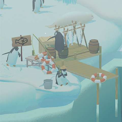 Penguin Isle, idle games, penguin games