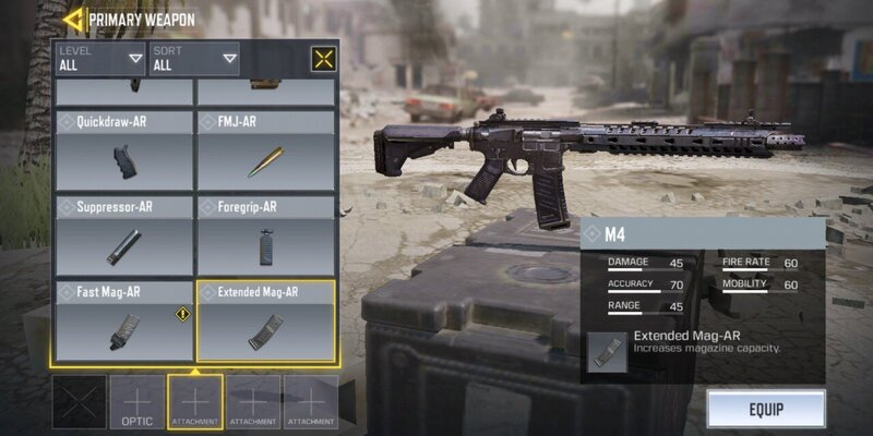 attachments for guns in Call of Duty Mobile, Call of Duty Mobile tips and tricks