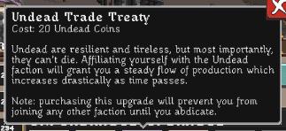 Realm Grinder Undead Trade Treaty Description