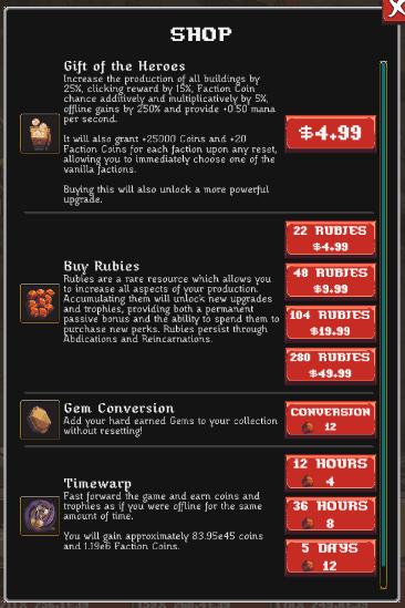 realm grinder shop menu