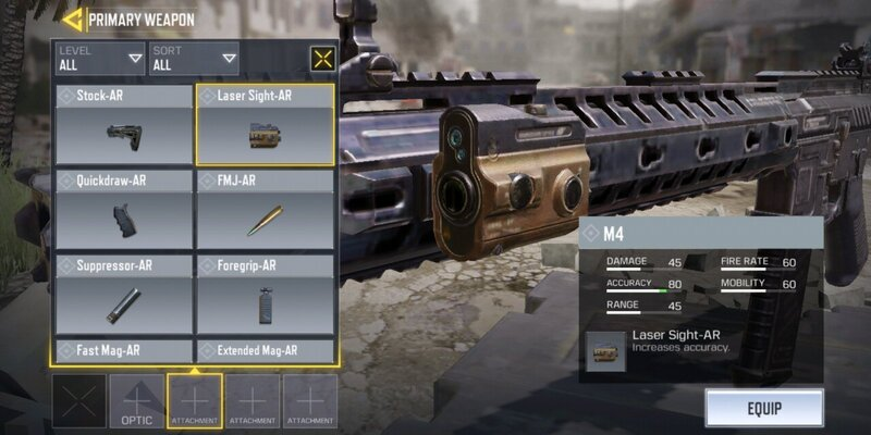 attachments for guns in Call of Duty Mobile, COD Mobile tips and tricks