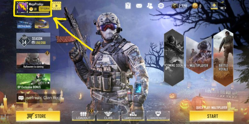 player profile in cod mobile, cod mobile tips and teicks