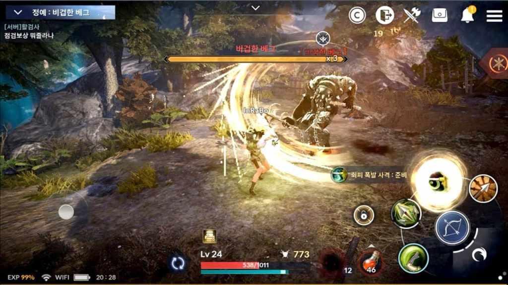 Black Desert Mobile launch gameplay