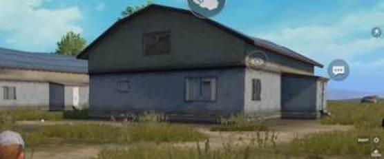 Twin barn houses near Pochinki