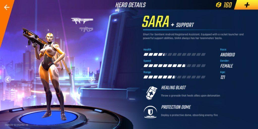 sara shadowgun war games