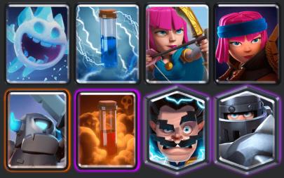 Best Firecracker decks in Clash Royale