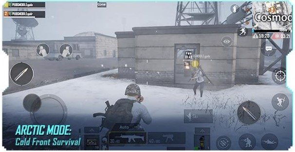 pubg mobile arctic mode