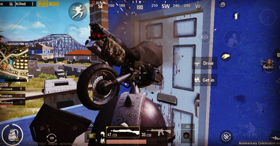 pubg mobile glitches