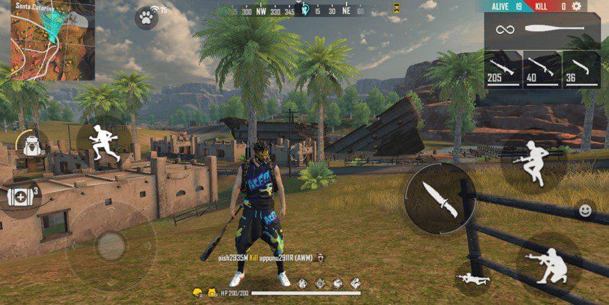 Best loot locations in free Fire kalahari