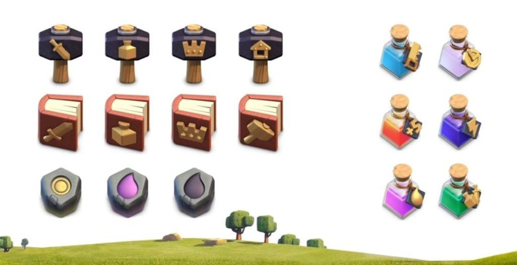 Clash of Clans magic items