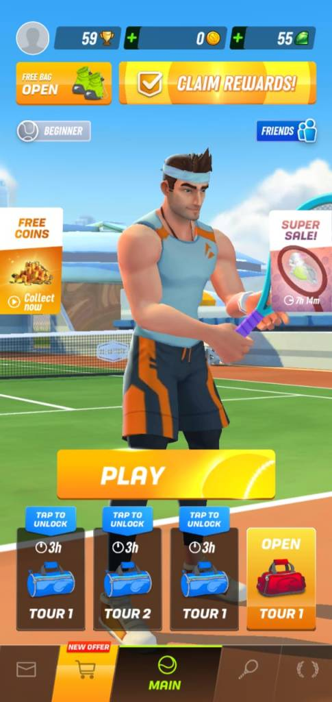Tennis Clash 3D Guide