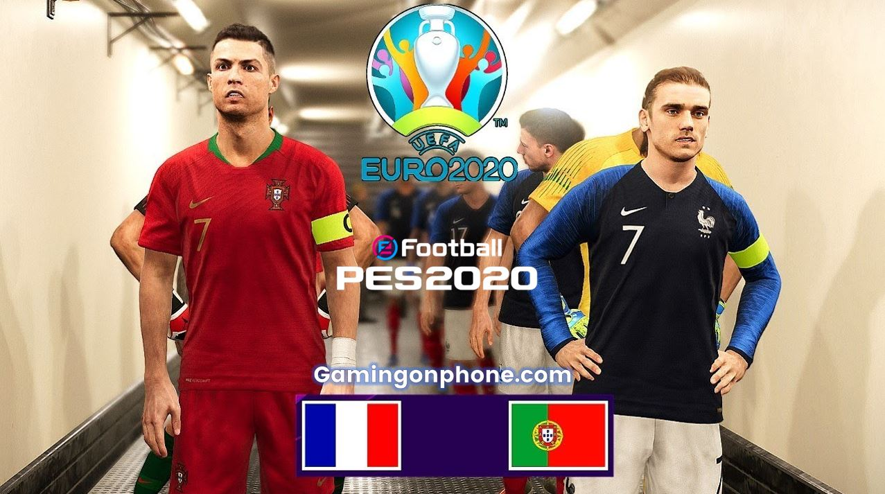 France national team fixture,lineup,tactics,formations,score and results. Efootball Pes 2020 Portugal France Euro Matchday Squad Builders