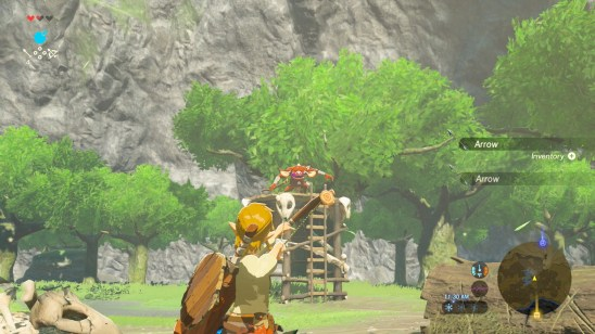Image result for zelda botw screenshots weapon break