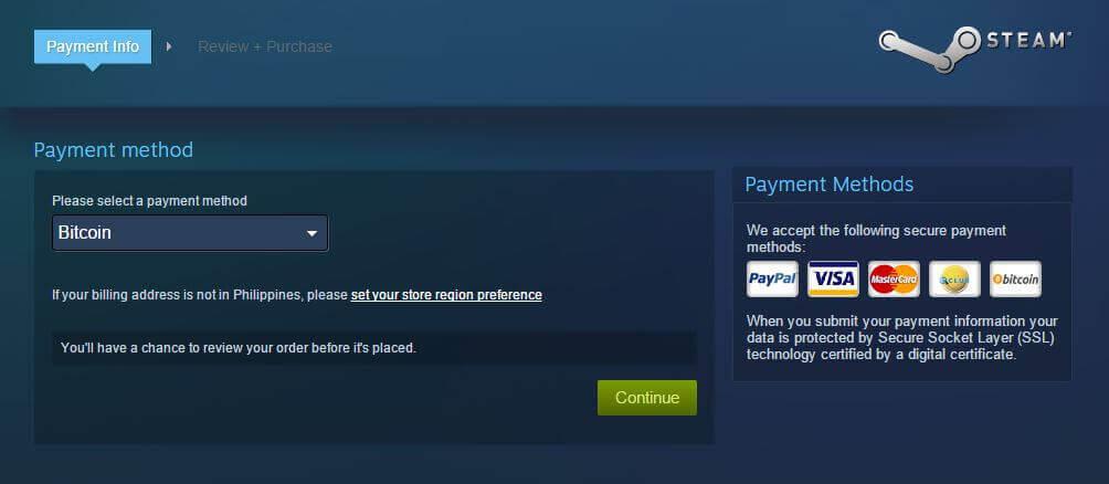Acum poți cumpăra jocuri de pe Steam cu Bitcoin