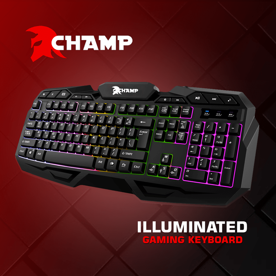 Champ Illuminated Gaming Keyboard