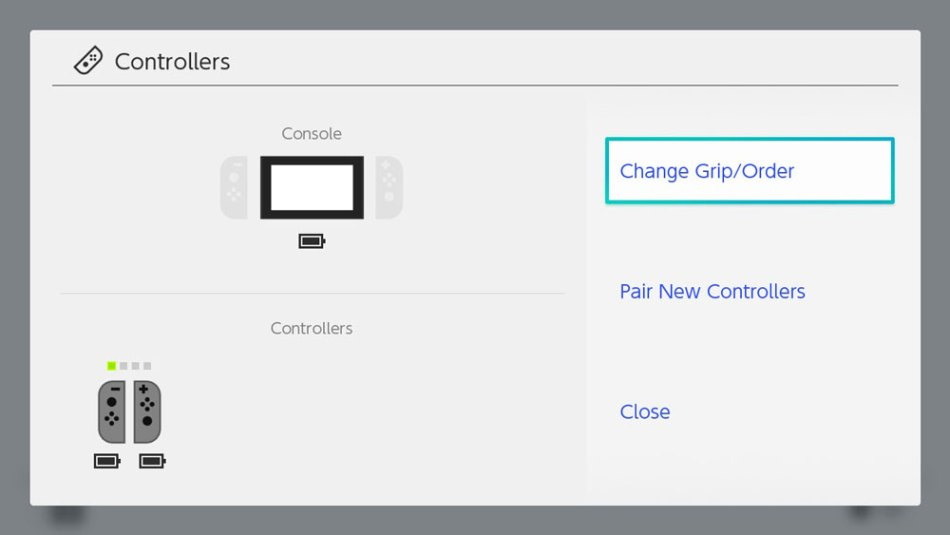 nintendo switch how to change players