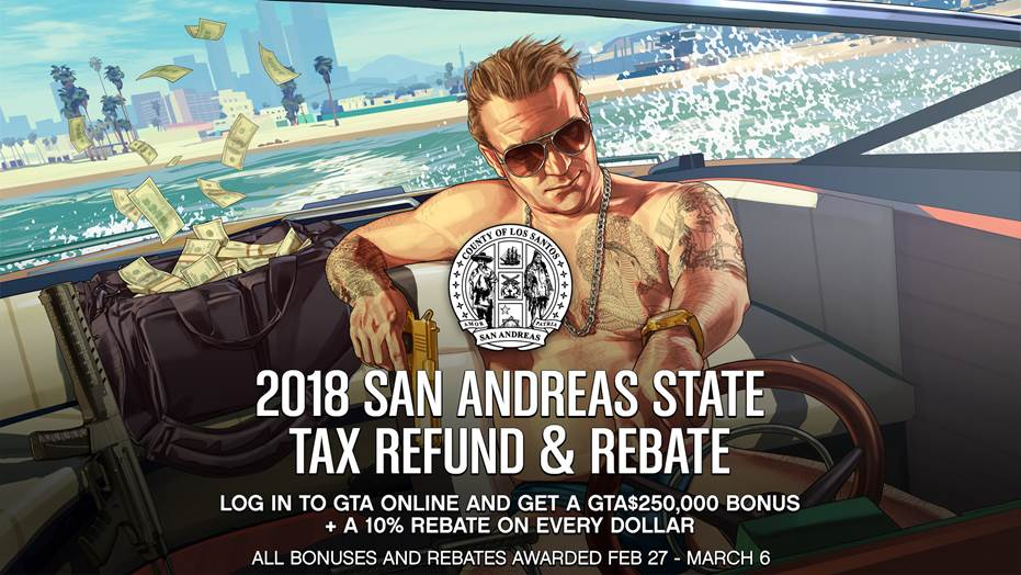 Get your FREE $250,000 for GTA Online by just logging in This Week