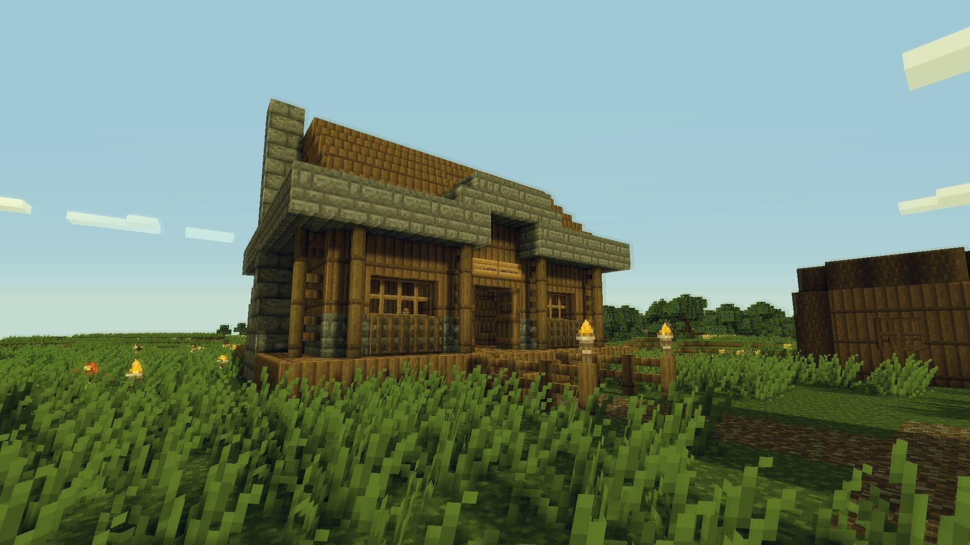 Small Village House Design Minecraft Rumah Joglo Limasan Work