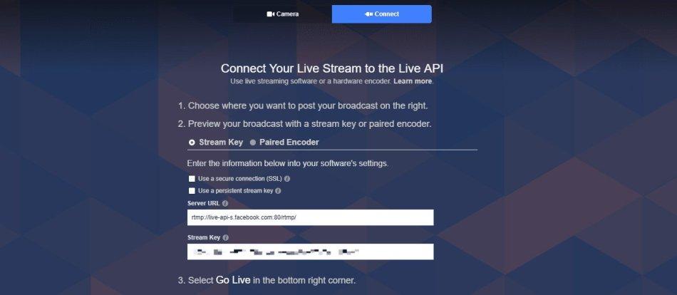 Tab live stream