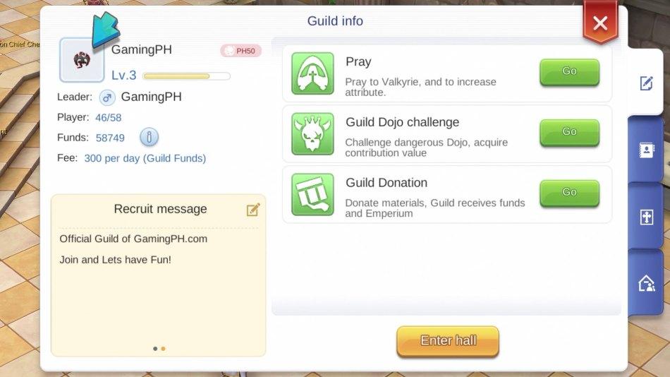 How to Change Guild Emblems (Icon) for Ragnarok M Eternal